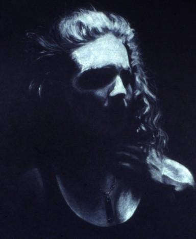 woman in shadows